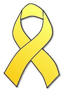 bone cancer ribbon | yellow bone cancer awareness cancer awareness is a very important