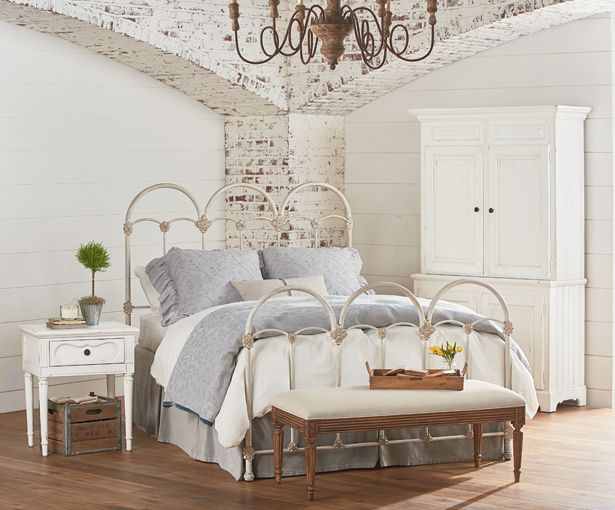 From the new magnolia home furnishings line by joanna for Joanna gaines bedroom ideas