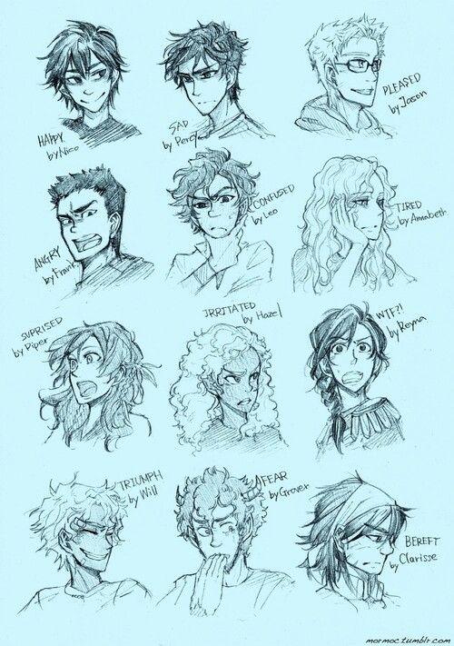 Percy Jackson personajes<3
