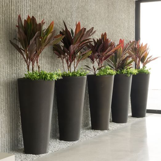 Tapered Planter. Tall PlantersPatio PlantersModern ... - 218 Best Planters Images On Pinterest