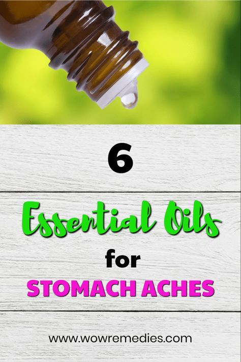 Best Essential Oils For Stomach Aches