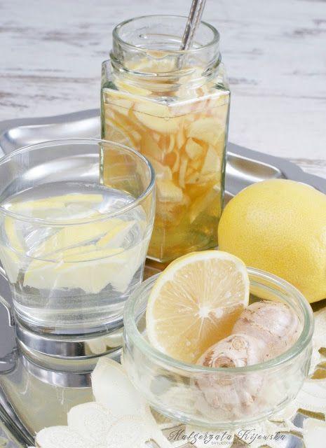 Miód z imbirem i cytryną - przeciwko przeziębieniom