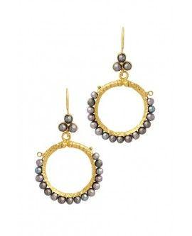 Cazibe Hoop Earrings