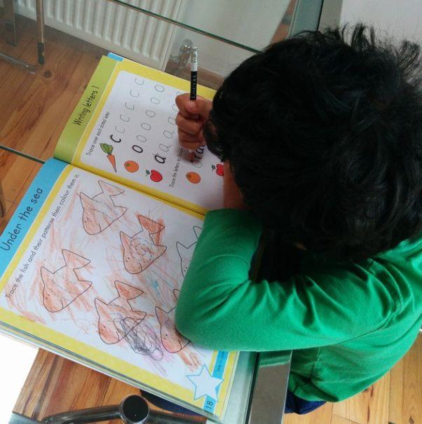 #SummerWithGoldStars #writing letters #indoors activity on a bleak #rainyday #pblogger @msxpat