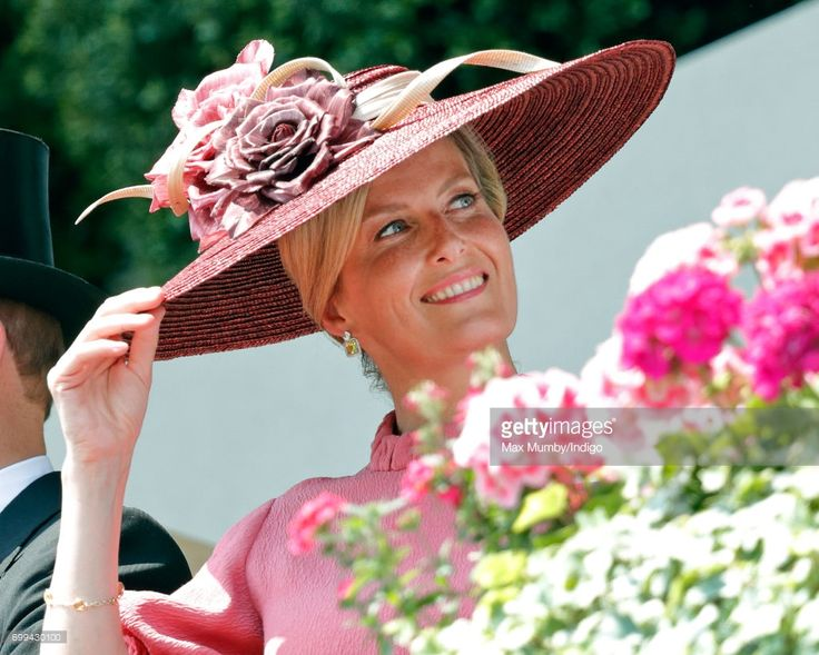 (EMBARGOED FOR PUBLICATION IN UK NEWSPAPERS UNTIL 48 HOURS AFTER CREATE DATE AND TIME) Sophie, Countess of Wessex attends day 2 of Royal Ascot at Ascot Racecourse on June 21, 2017 in Ascot, England. (Photo by Max Mumby/Indigo/Getty Images)