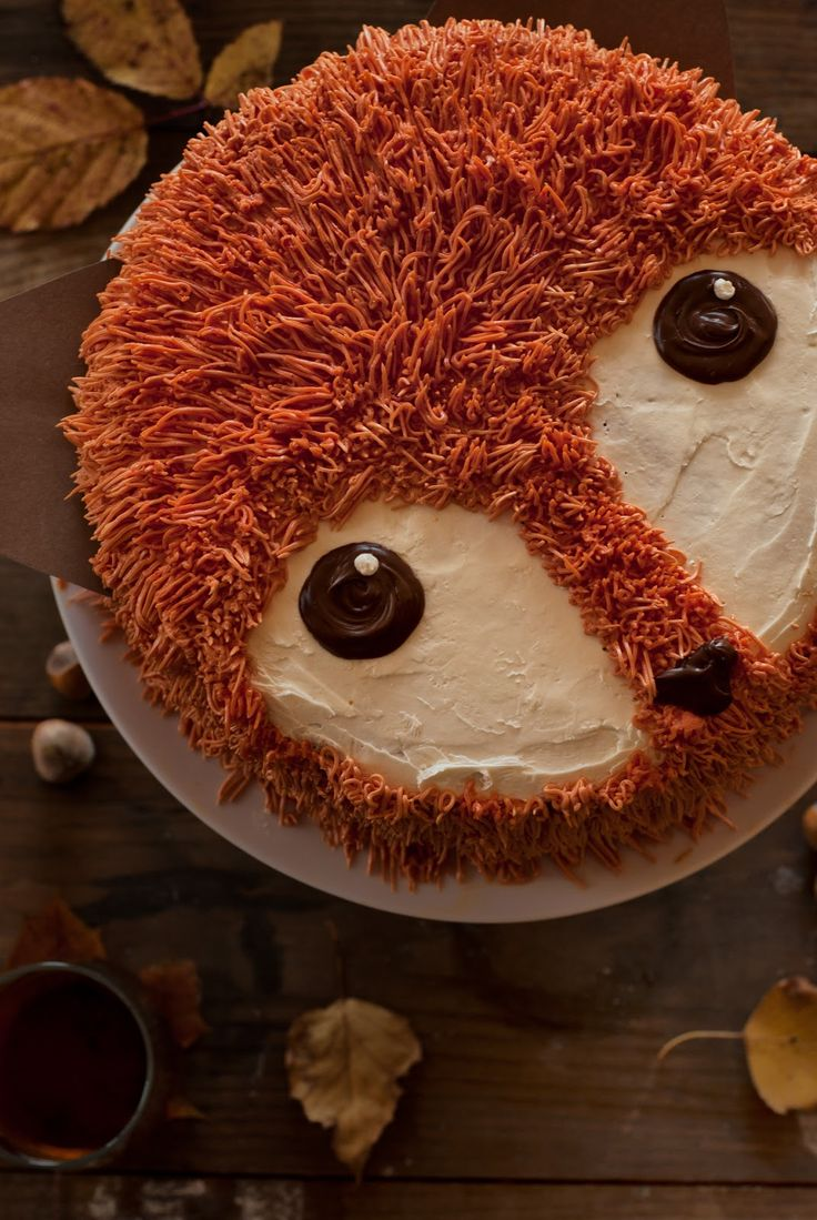 Lisia Kawiarenka: Lisi tort na drugie urodziny bloga