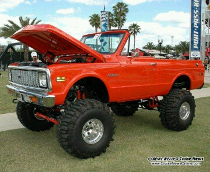 71 Chevy Blazer!
