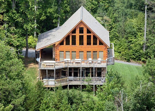 Moose Mountain Lodge 539   5 Bedroom Cabins   Pigeon Forge Cabins   Gatlinburg Cabins