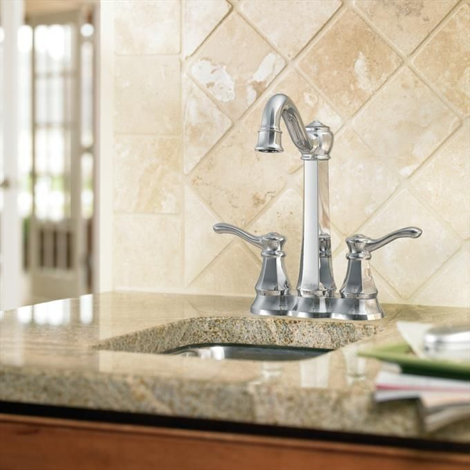 home wet bar faucet in chrome