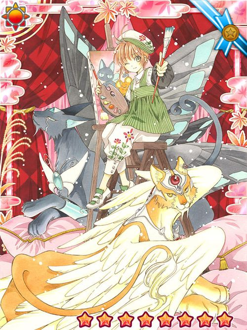桜 Sakura、ケルベロス Keroberos (Kero-chan)、スピネル Spinel:カードキャプターさくら Cardcaptor Sakura - CLAMP