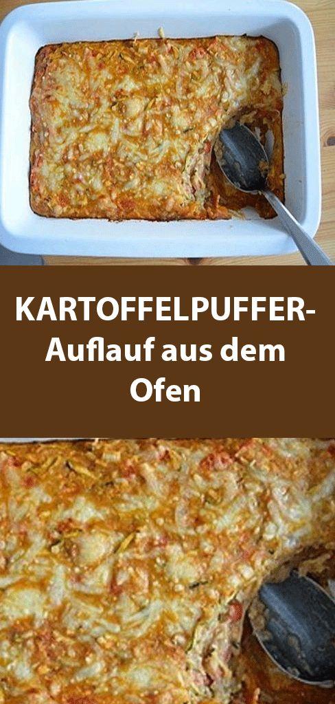 KARTOFFELPUFFER-Auflauf aus dem Ofen