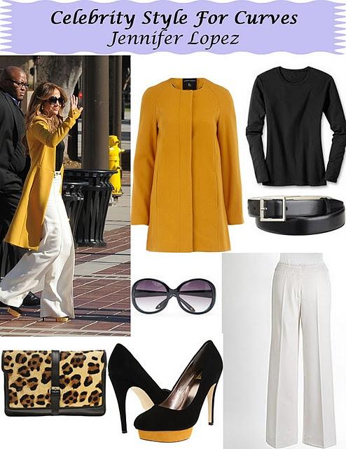 J Lo Style on stylishcurves.net