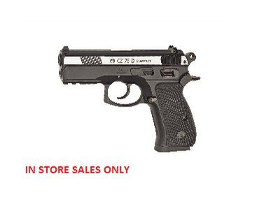 The ASG CZ75D Compact Duel Tone .177 BB Air Pistol is a Co2 powered air pistol ideal for target shooting.
