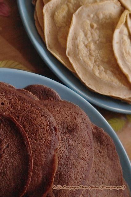 La-Compagnie-Sans-Gluten, un blog-sans-gluten-et-sans-lait, bio-et-végétarien !: Crêpes sans gluten et sans lait