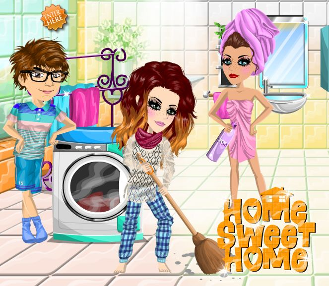 Home, sweet home theme #moviestarplanet #MSP www.moviestarplanet.com