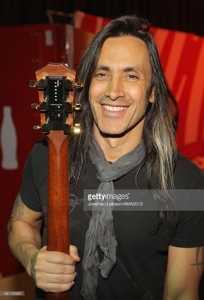 Guitarist Nuno Bettencourt attends the 2013 American Music Awards Gift Lounge at Nokia Theatre L.A. Live on November 24, 2013 in Los Angeles, California.