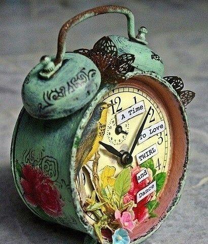 Για να ξεθάψουμε τα παλιά ρολόγια !!! @[Crafts and Paper]