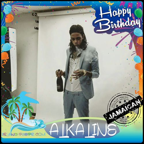 Happy Birthday Alkaline!!! Dancehall Recording artist born in Jamaica!!! Today we celebrate you!!! @TheAlkaline2016 #Alkaline #islandpeeps #islandpeepsbirthdays #Vendetta #newlevelunlocked  #Dancehall #Jamaica https://video.buffer.com/v/585731fdd23eb2873deaae84