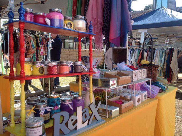 I love my Market setup. Elly Baba's Treasures