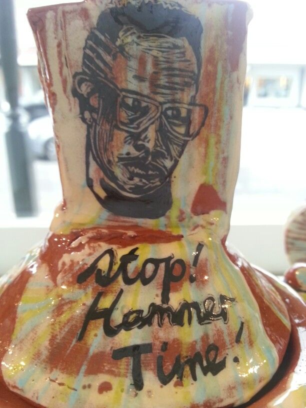 MC Hammer detail from Just a sleep over - Andy Kingston 2014