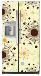 Do you Want to Decorate your Kitchen Fast and Cheap?  SLAP ON a Magnetic Decorative Refrigerator Cover And Watch Your Kitchen TRANSFORM In Just Seconds Before Your EYES! Sunburst Magnet Refrigerator Covers, Panels and Skins on SALE NOW! | HOME DECORATION