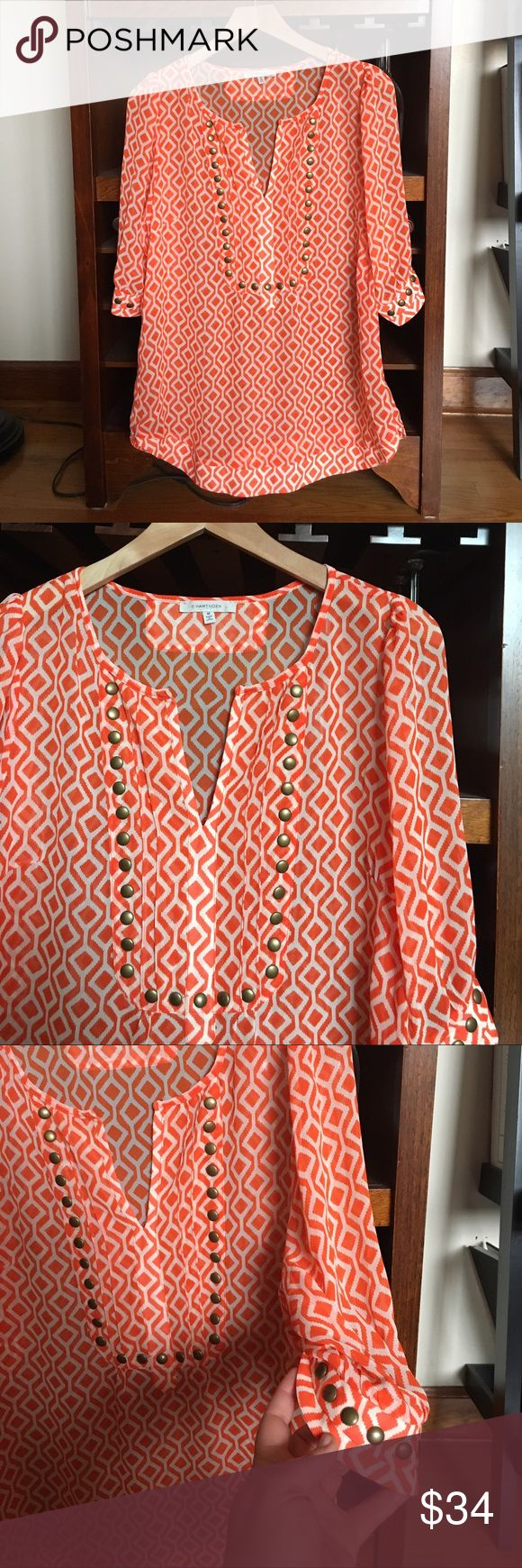 41 Hawthorn top from Stitch Fix 41 Hawthorn top from Stitch Fix. Size medium. No trades. 41 Hawthorn Tops Tunics