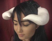 Overlord Albedo Cosplay Horns