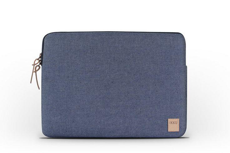 "Ikku® — Recycled Denim Sleeve for MacBook 13"" | Original Indigo Blue"
