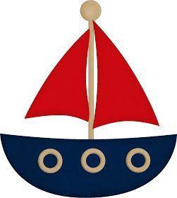 Oi Pessoal!!!!! Mais um kit para menino! Kit de Marinheiro Azul e vermelho, para decorar a festa do seu Garotão! O kit é completo com c...