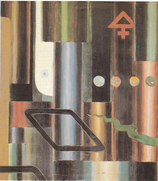 La libra s'infiamma e le piramidi, 1921 Julius Evola