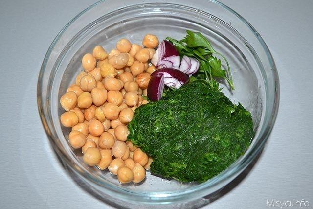Polpette di spinaci e ceci 2