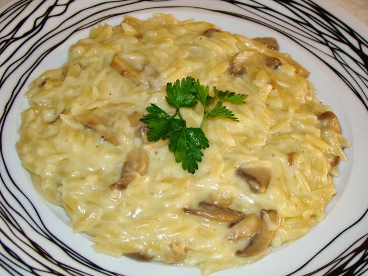 Olga's cuisine...και καλή σας όρεξη!!!: Κριθαρότο με ποικιλία τυριών και μανιτάρια