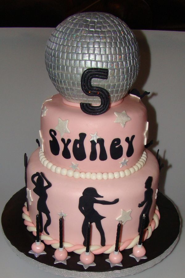 Many thought this was a sweet 16 cake, but it was just for a very lucky 5 year old who's mom was throwing her a major party here in NYC...