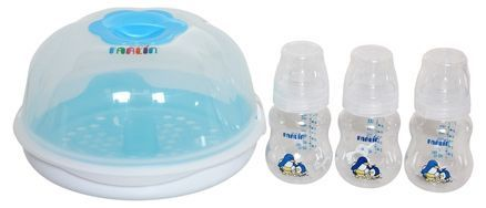Farlin - #Microwave #Sterilization Set Farlin - Microwave Sterilization Set Farlin Microwave Sterilization Set provides a more economical and practical option to sterilize your #baby's #feeding #bottles.
