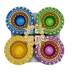 painting diyas for diwali - Google Search