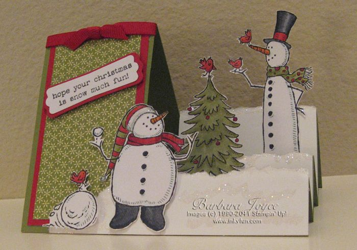Snow Much Fun Sidestep Card by bejoyce - Cards and Paper Crafts at Splitcoaststampers