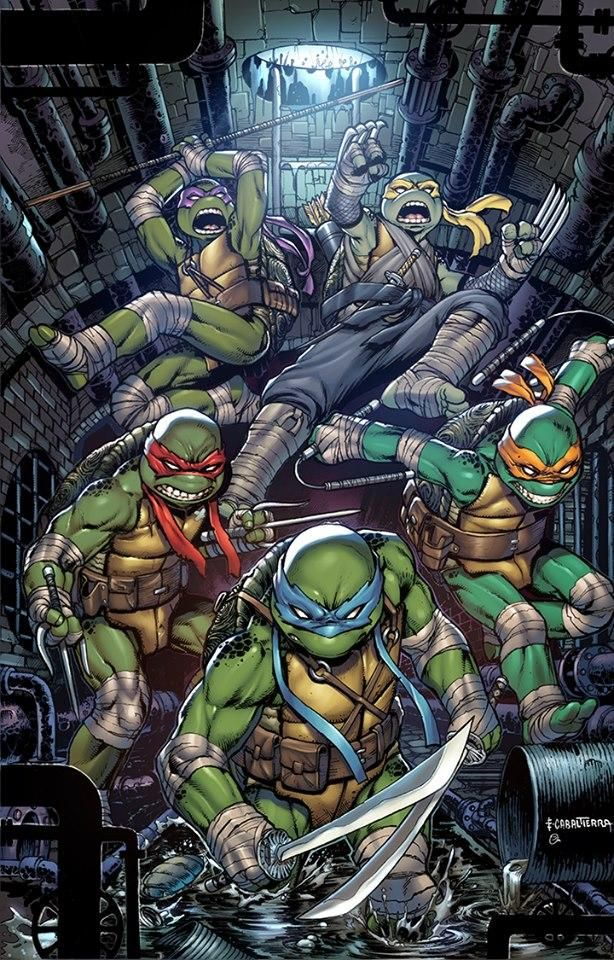 Tmnt 100 Variant By Emilcabaltierra On Deviantart In 2020 Tmnt Art Teenage Mutant Ninja Turtles Artwork Teenage Mutant Ninja Turtles Art