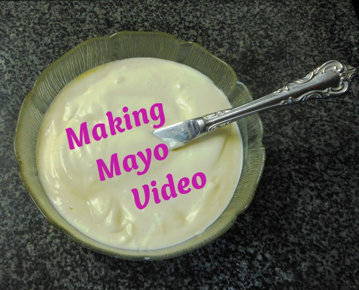 sandwiches now to give it a try making homemade mayonnaise a video ...