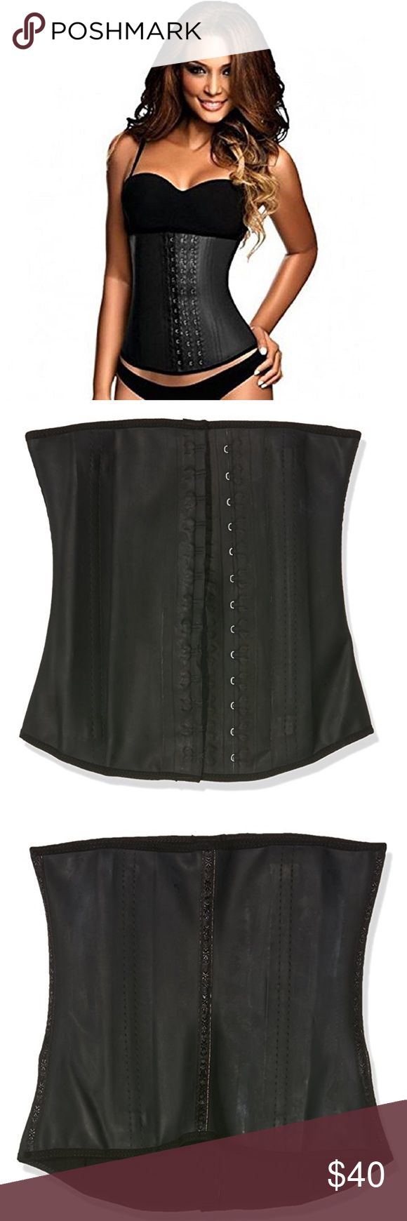 Latex Faja Clasica Waist Cincher Medium 34 W wrap the band around your midsection. This action creates compression in your core, stimulating thermal activity and ramping up perspiration. This process mobilizes fat cells. The band itself is constructed from a latex core with a soft cotton exterior and interior lining. It sits at your waist, extending to the upper abdominals. Two columns of hook-and-eye closures allow you to size the garment down with you. Felix boning anchors the cincher and…