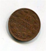 РУССКАЯ ФИНЛЯНДИЯ 10 пенни 1915 год медь