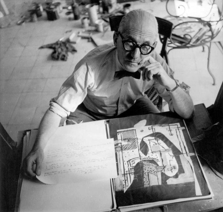 adreciclarte — Le Corbusier, New York 1947 by Irving Penn