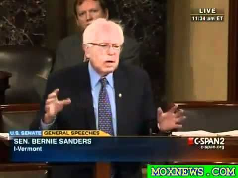 This is a MUST SEE video of Senator Bernie Sanders talking about income inequality and unfair tax policy in the United States, December 02 2010.  Bernie is completely consistent, always has been, always will be.