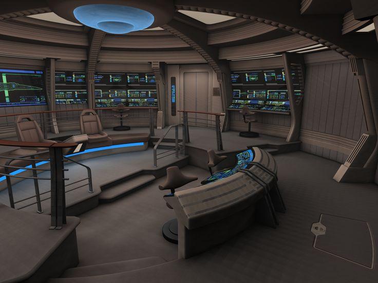 Bridge Of Nova Class Starship