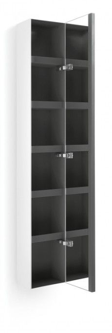 #Lineabeta #Ciacole pensile 8054.17 | #Modern #Wood | on #bathroom39.com at 530 Euro/pc | #accessories #bathroom #complements #items #gadget