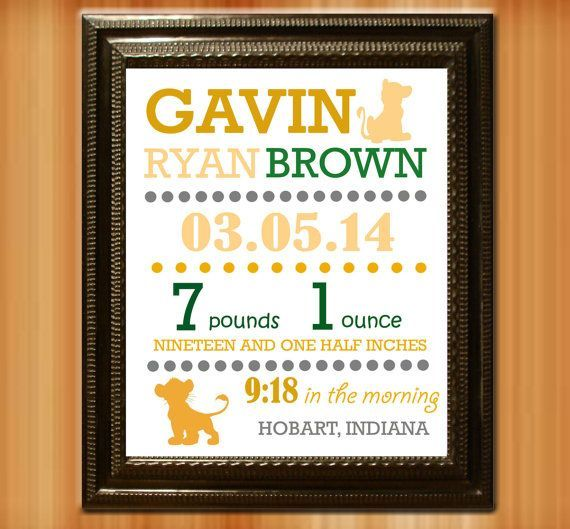 40 best Birth Announcements images – Indiana Birth Announcements
