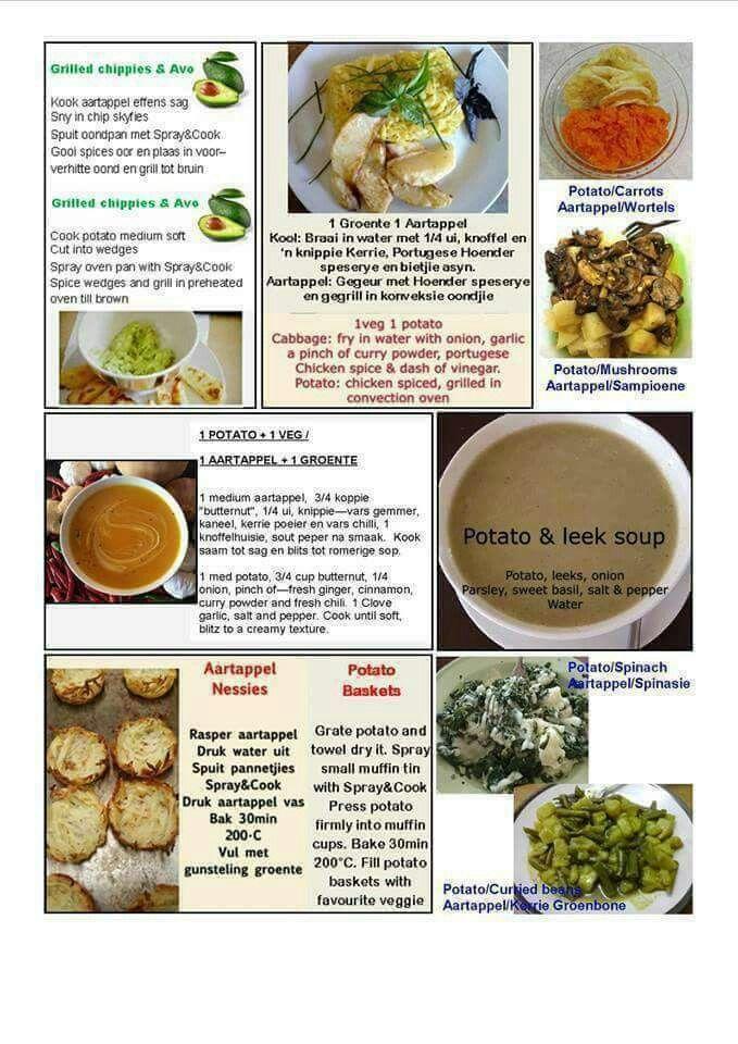 menu dieet
