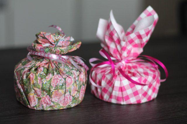 DIY: Valentijnscadeautjes inpakken met servetten