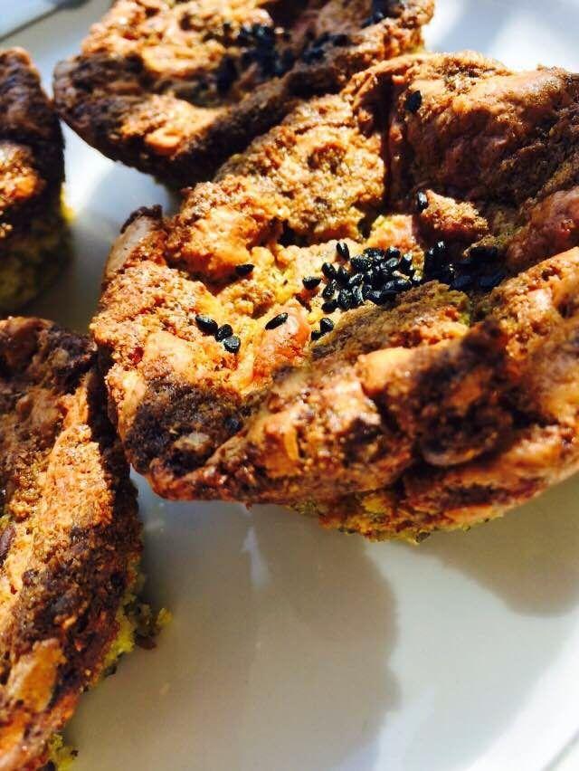 Bade'nin Şekeri                           *                                     Bade's Sugar: Ispanaklı Çıtır Kahvaltı Muffinleri / Crunchy Spin...