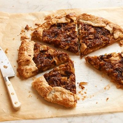 Caramelized Onion and Apple Galette