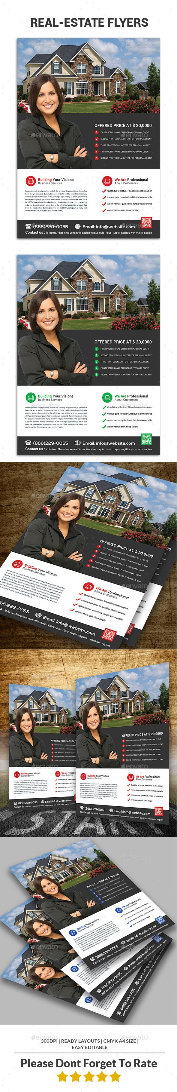 images about real estate marketing real estate flyer template psd promote graphicriver net